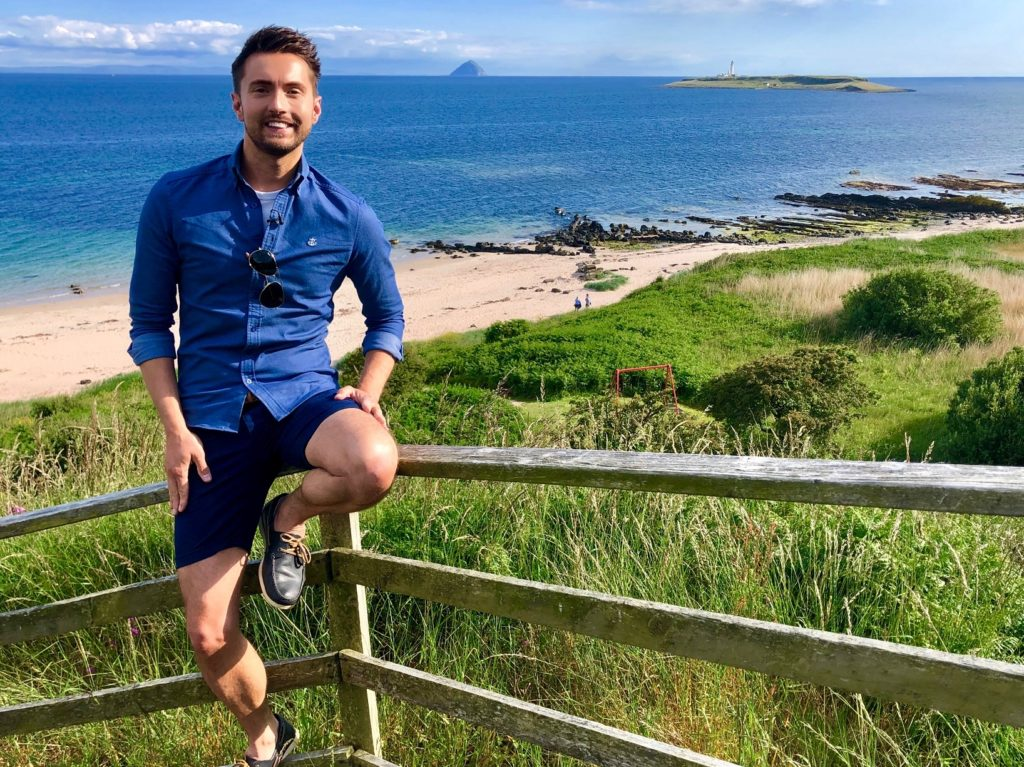 Sean winds up series with trip to Arran