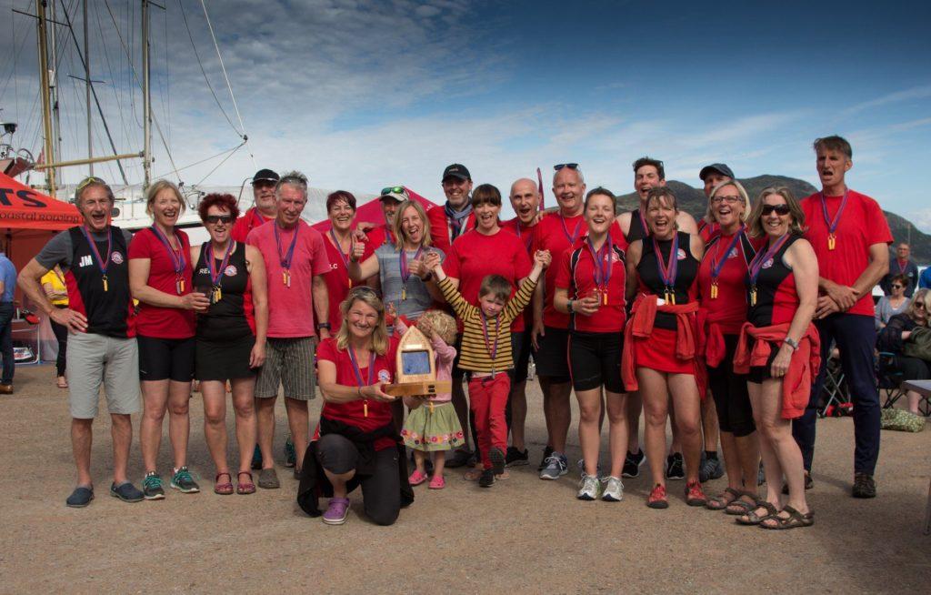 North Berwick take top honours at third successful Arran regatta