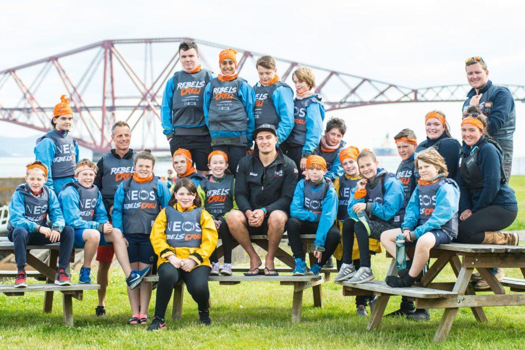 Arran's America's Cup sailor inspires Scots to get sailing