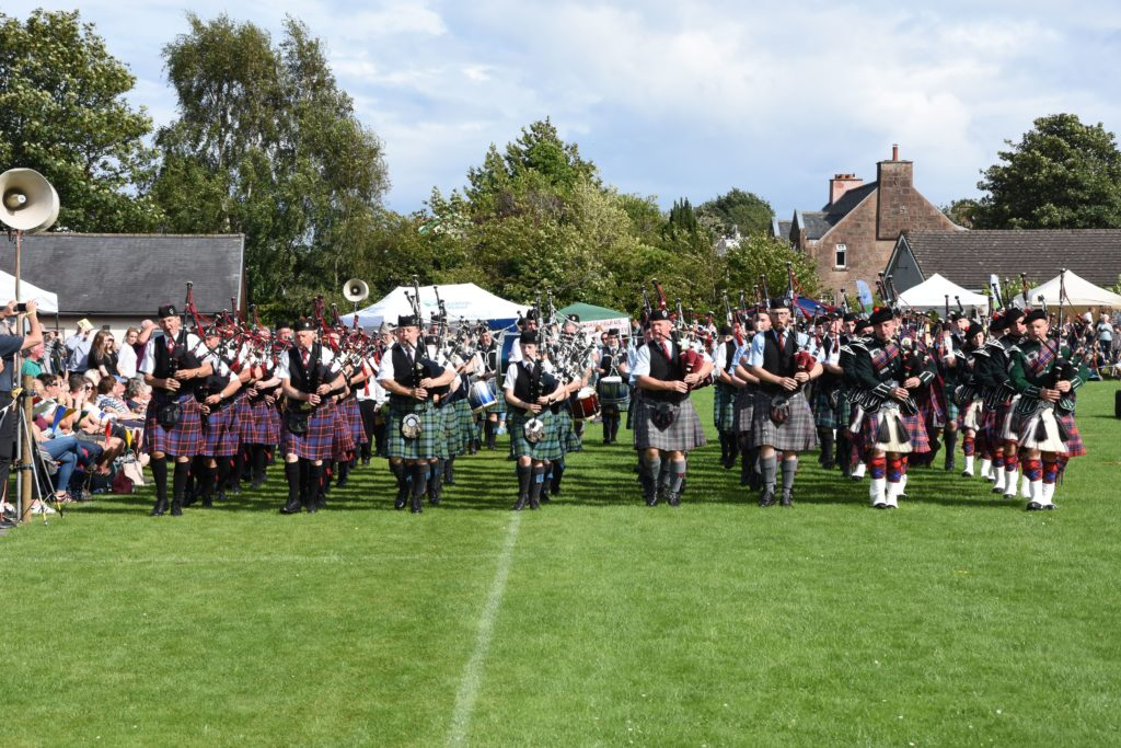 Pipes and passion at 132nd Brodick Highland Games