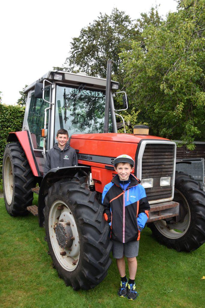 Treasure trove of tractors on display