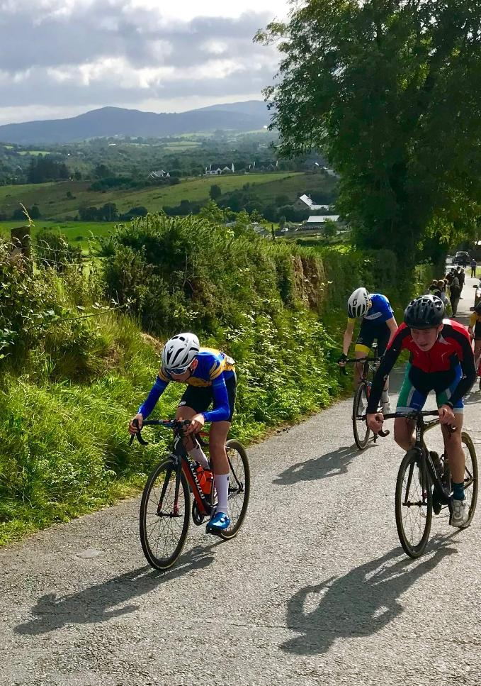 Louie holds his own on tough Irish youth tour