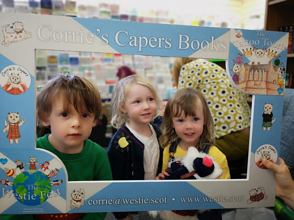 Corrie's Capers ready for first book festival