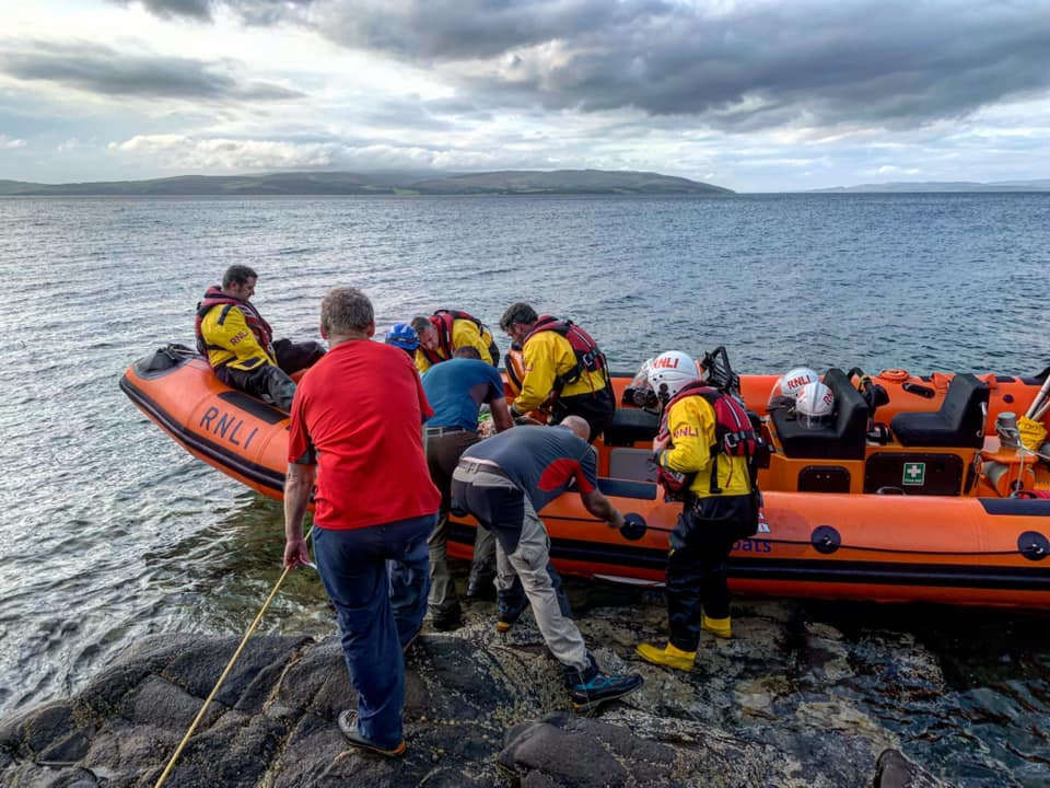 Injured walker rescued from Fairy Dell