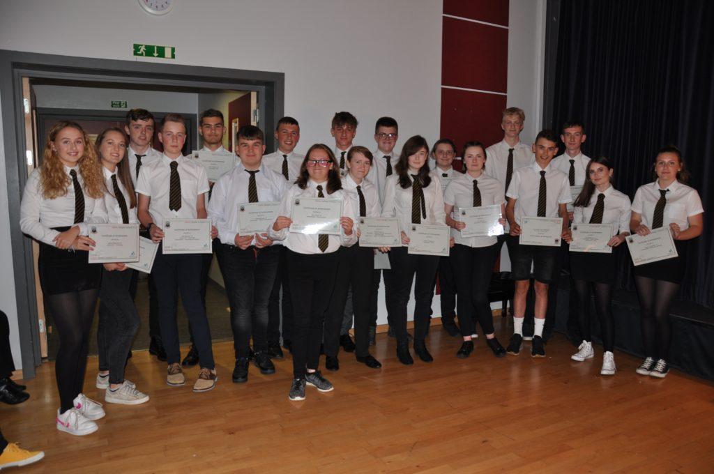 Awards night at Arran High School