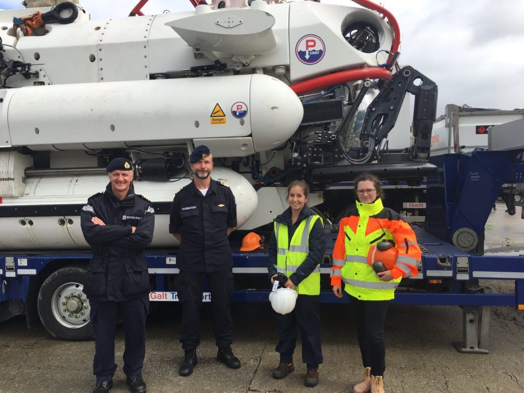 'Nemo' rescue vehicle exercises off Arran