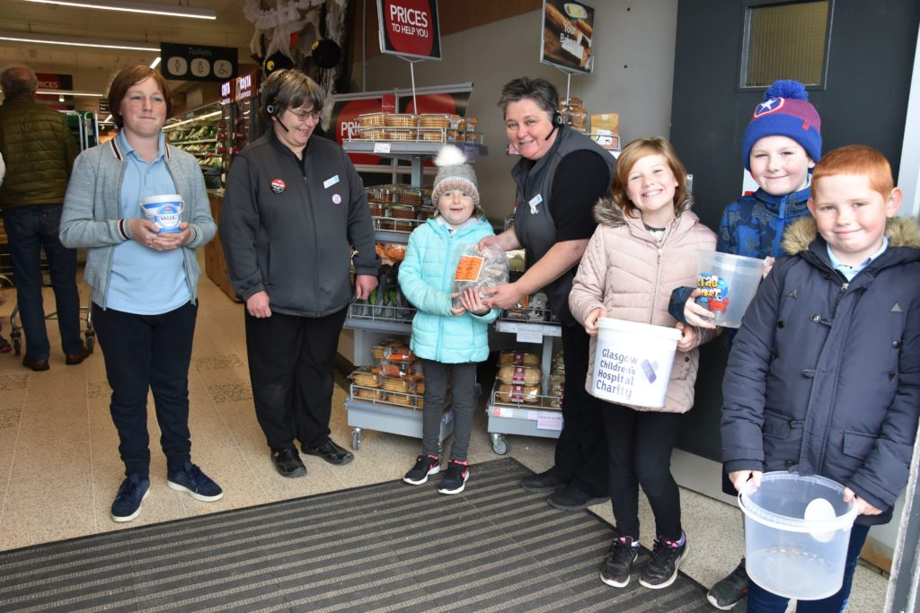 Primary pupils in penny fundraiser