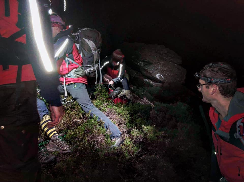 Man evacuated from Cioch na h- Oighe in night time rescue