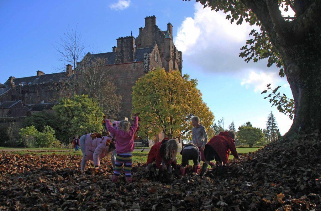 Autumn Fest at the castle