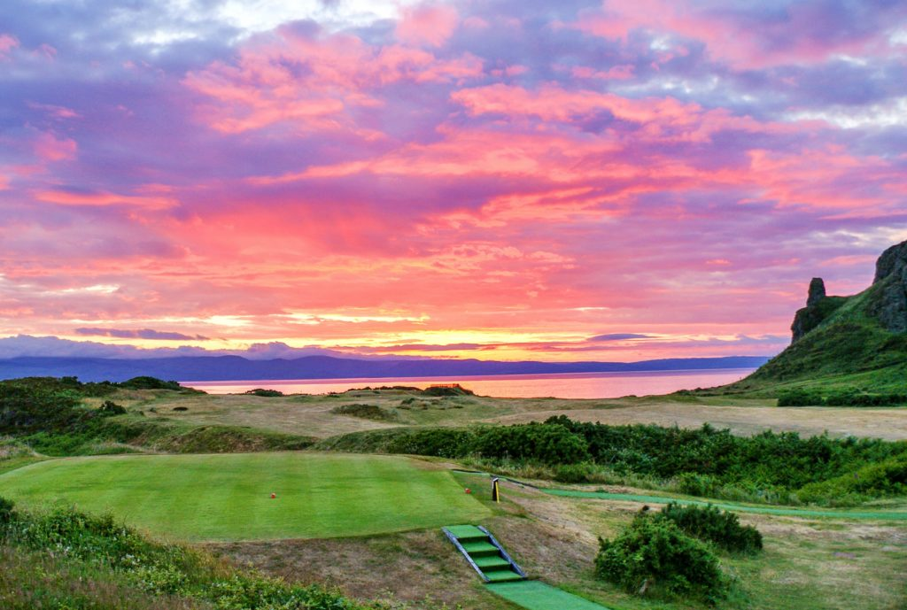 Arran Banner Golf – week 42