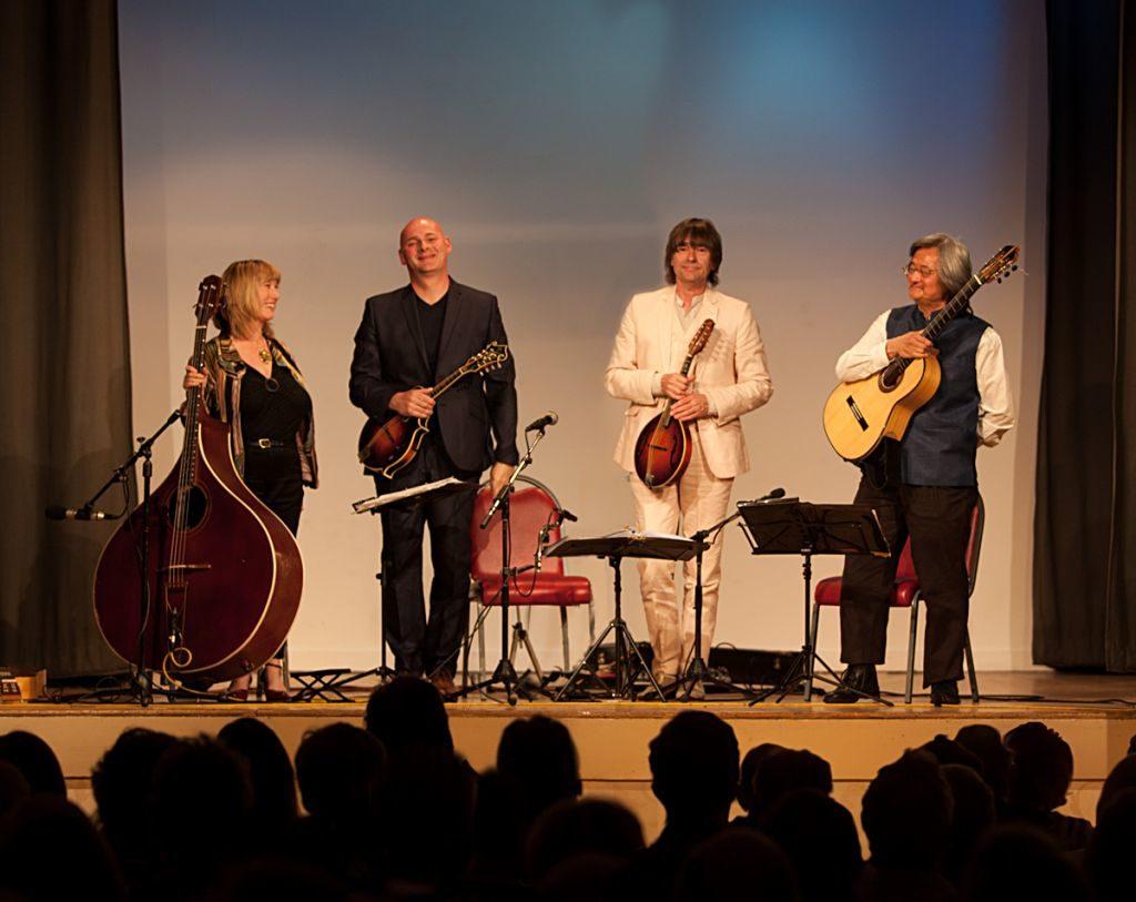 Britain's first modern mandolin quartet to visit Arran