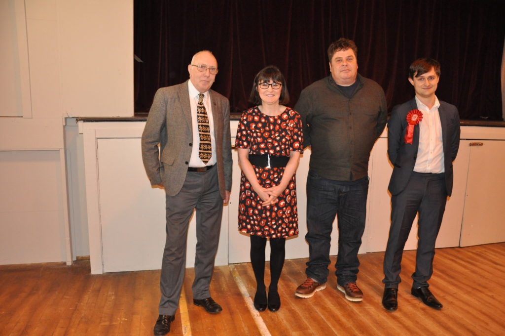 Candidates battle it out at the hustings