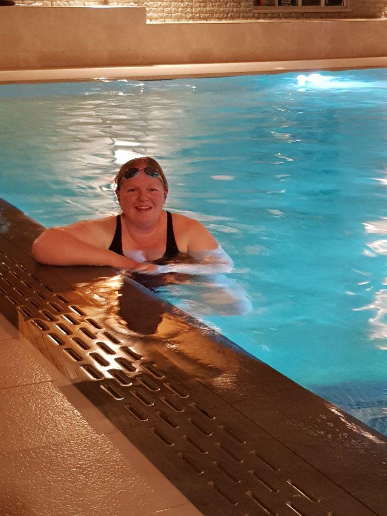 Love story behind Gemma's charity swim challenge
