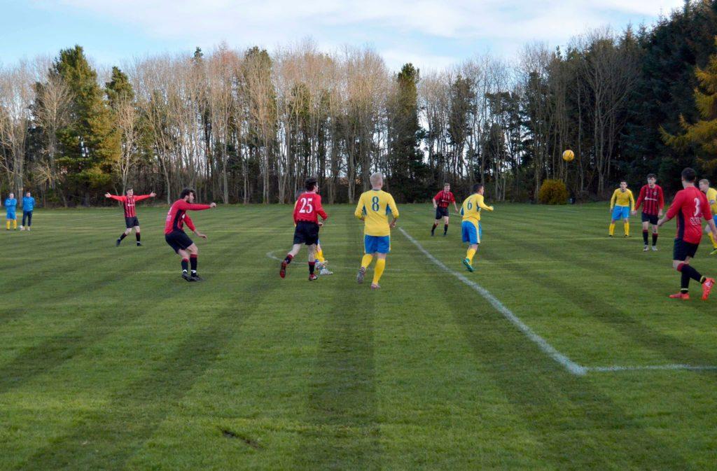 Arran press league leaders after win over Glencairn