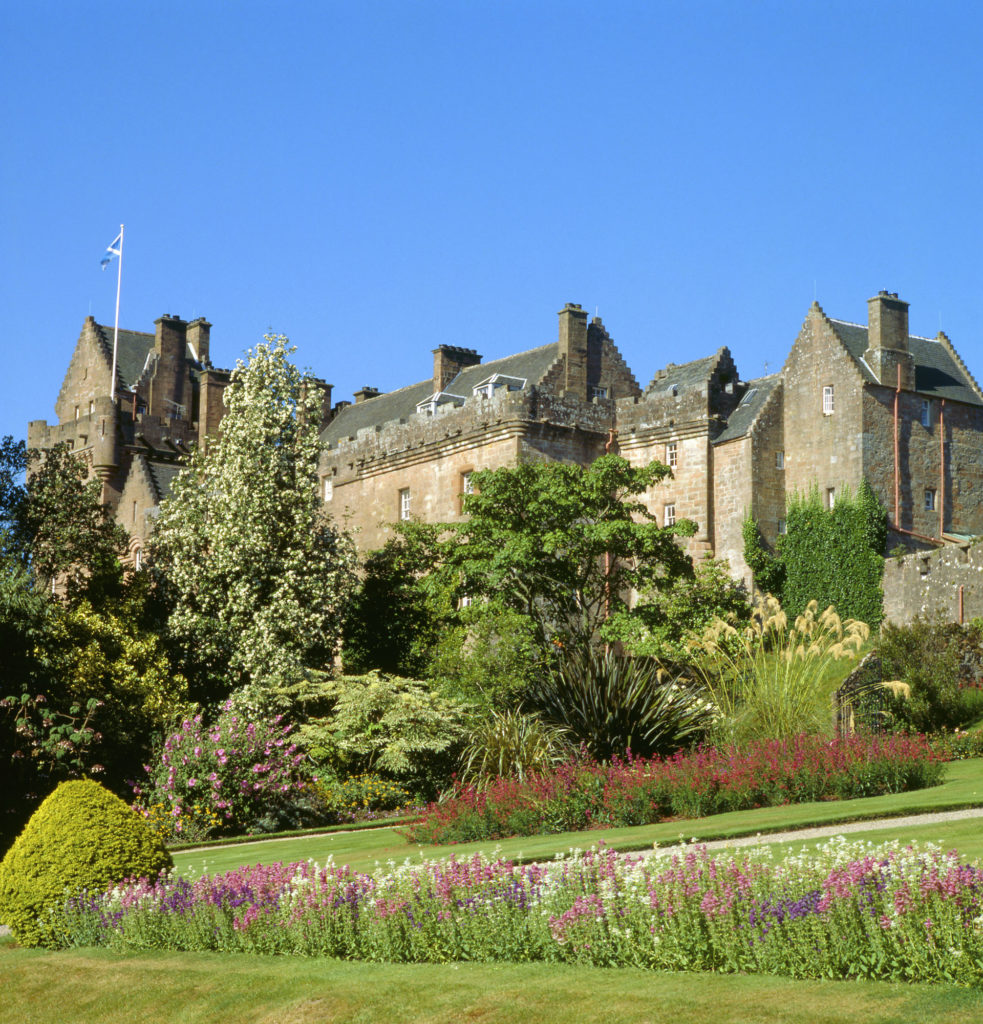 Lotto ticket gives free entry to Brodick Castle